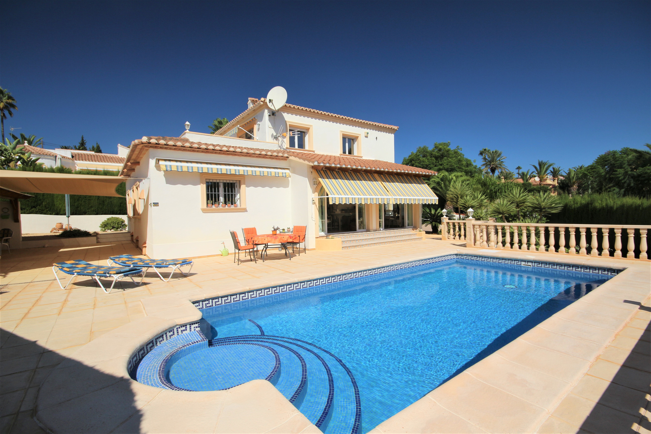 Immaculate three bedroom, two bathroom villa in Calpe