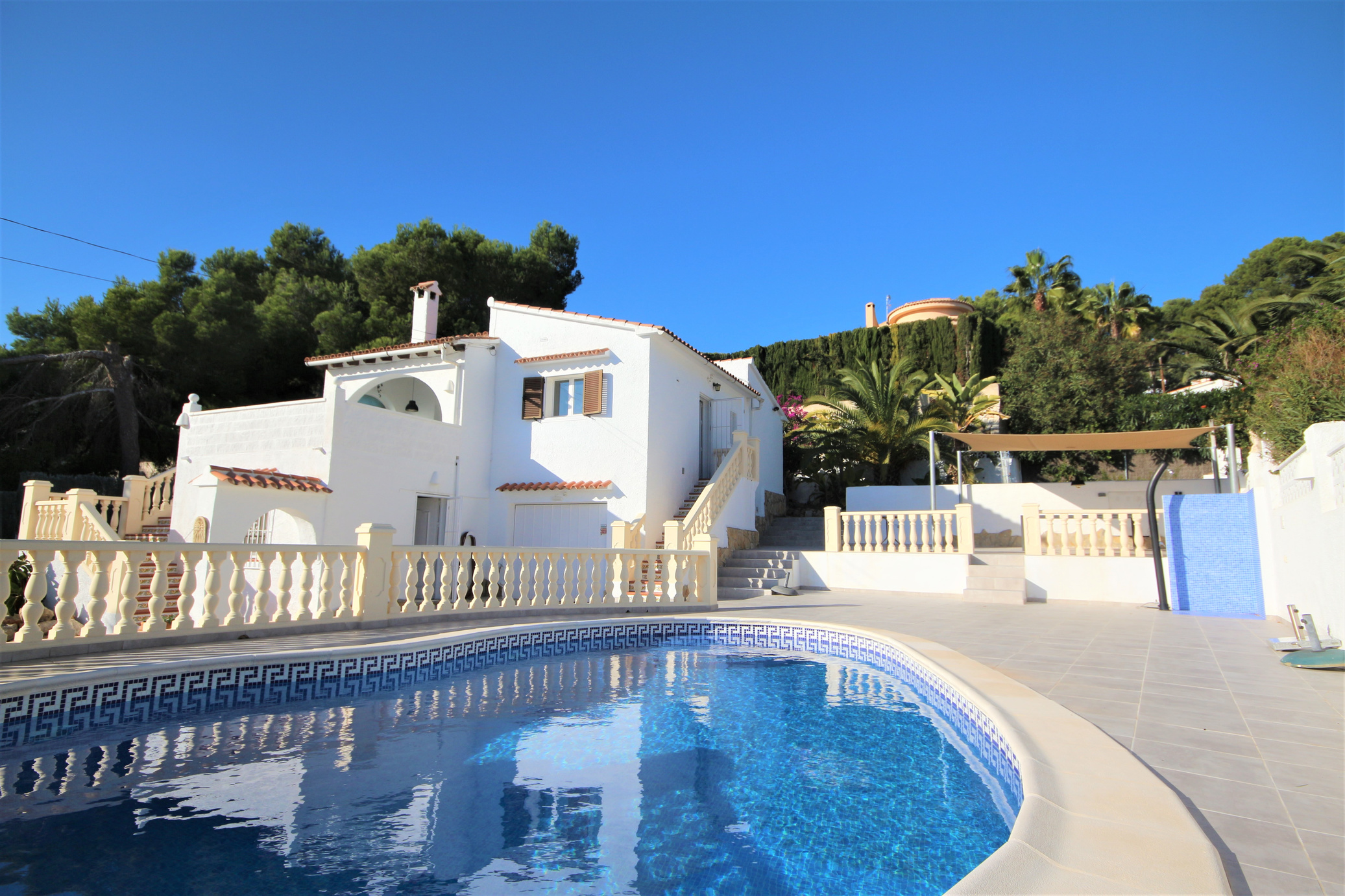 Three bedroom, two bathroom villa within walking distance to Moraira