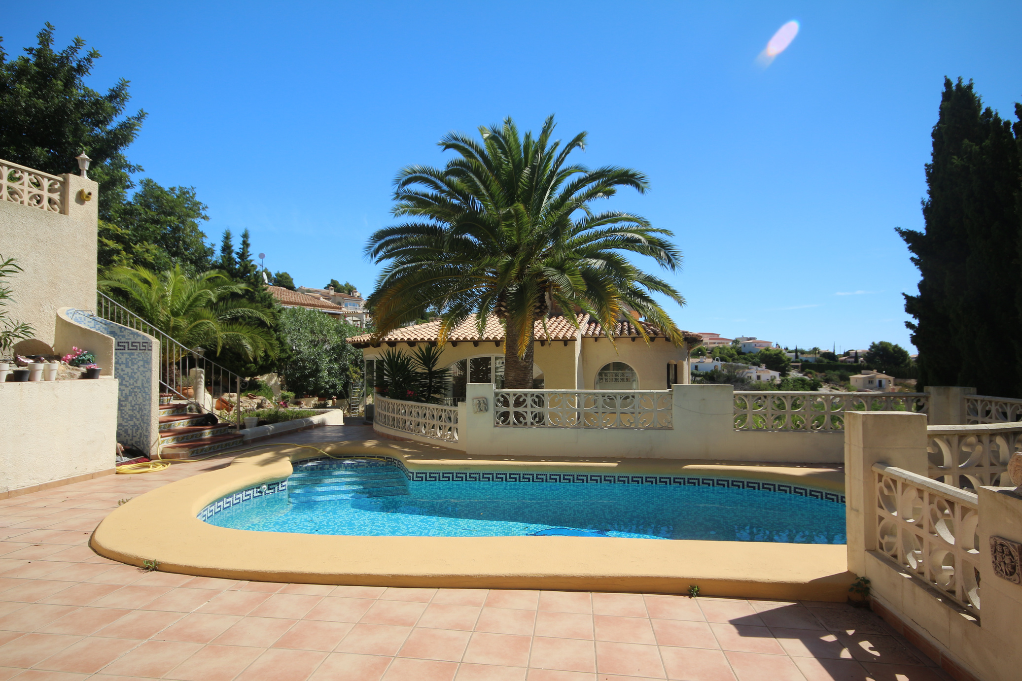 Three bedroom villa with a private swimming pool