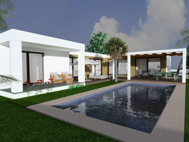 NEW BUILD THREE BEDROOM VILLA WITH A POOL, CLOSE TO MORAIRA VILLAGE
