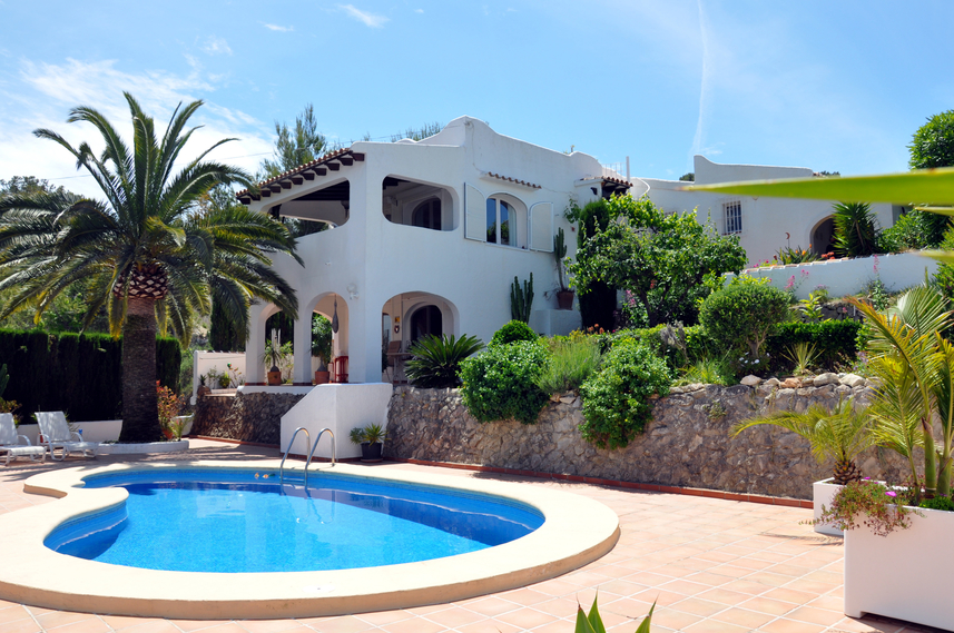 LOVELY THREE BEDROOM VILLA IN BENIMEIT, MORAIRA