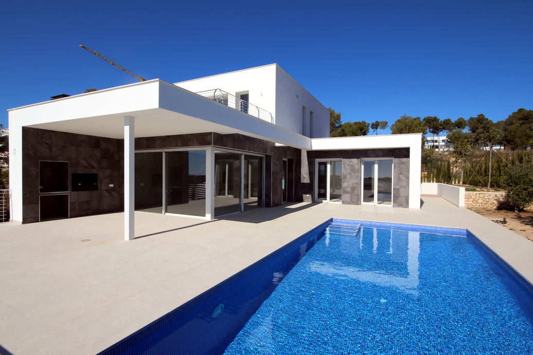 NEWLY BUILT SEA VIEW VILLA IN LA SABATERA, MORAIRA
