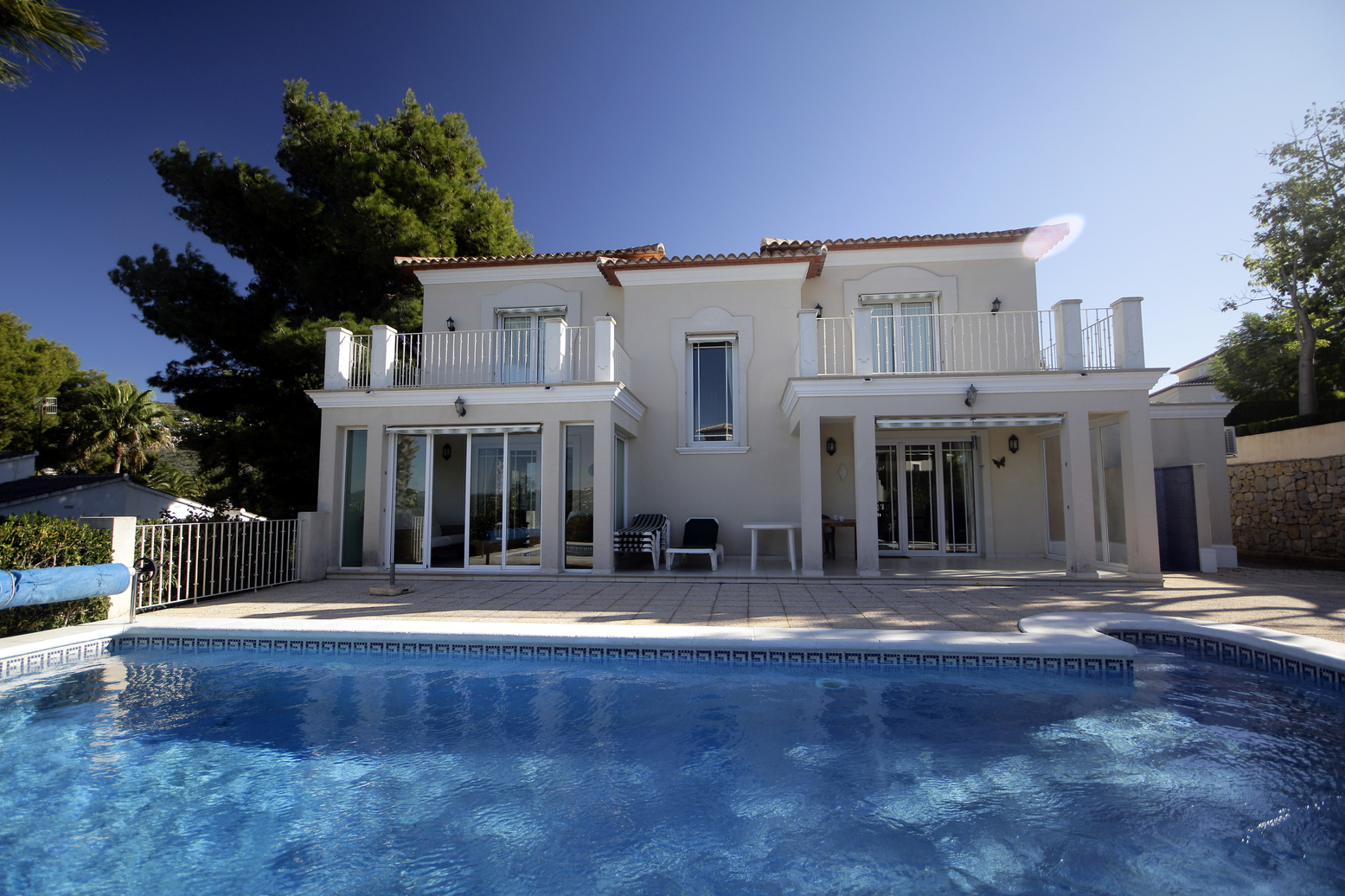 IMMACULATE THREE BEDROOM VILLA IN PAICHI, MORAIRA