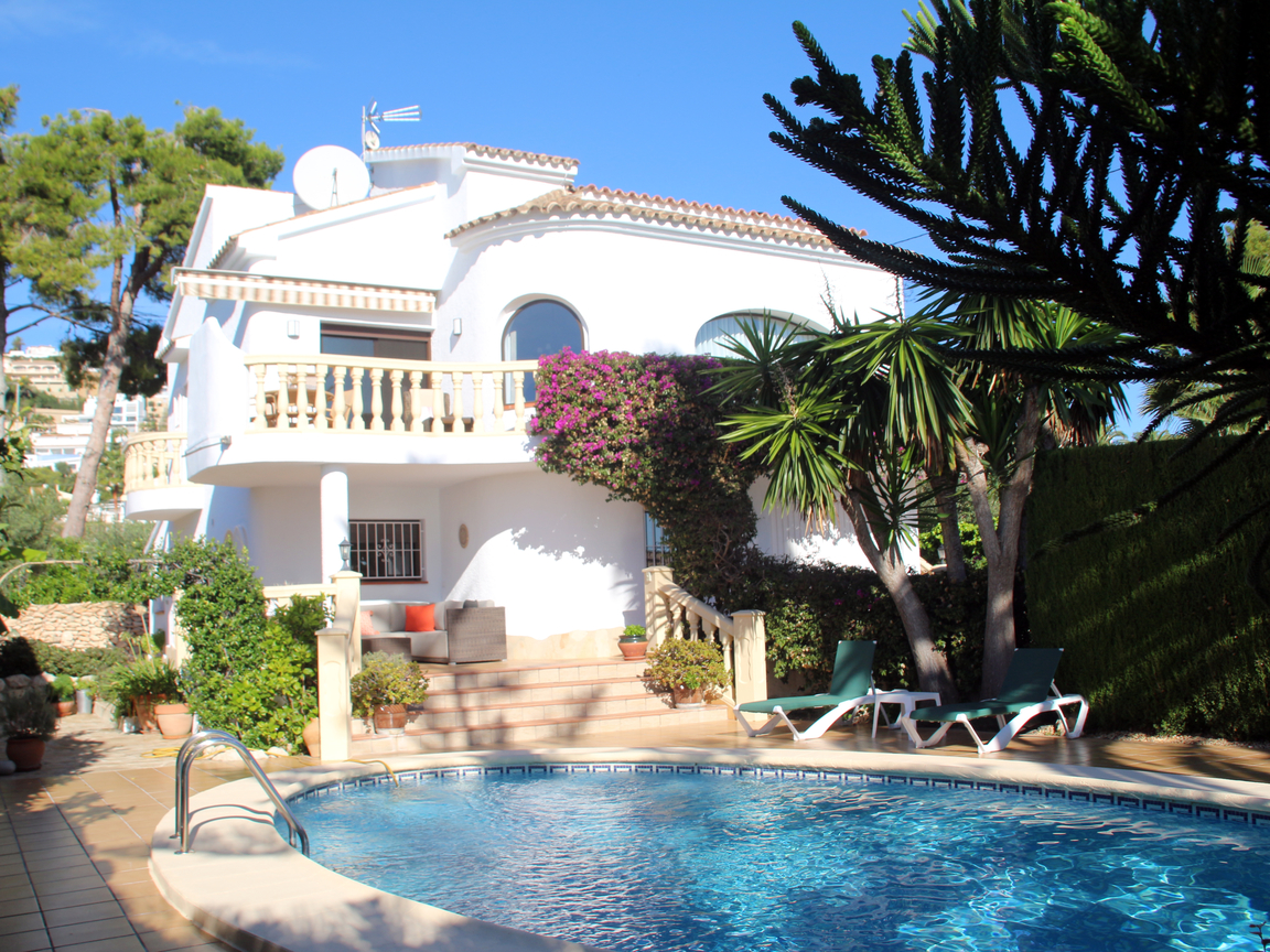SUPERB SEA VIEW VILLA IN LOWER BENIMEIT, MORAIRA